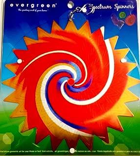 Spectrum Spinner Indoor Or Garden Or Patio Decorative Wind Or Motor Geometric Art Suncatcher