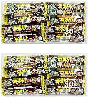 やおきん うまい棒チョコレート 30本×2袋 (60本)
