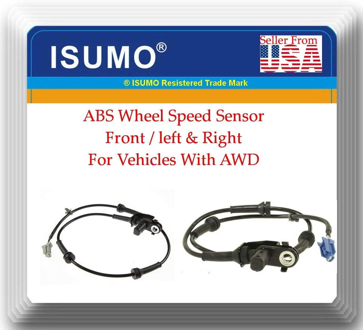 2 Pices 47910-AL805 47911-AL50A お得なキャンペーンを実施中 ABS 出色 Speed Wheel Sensor Front l