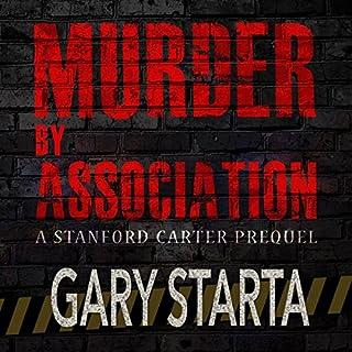 Murder by Association audiobook cover art