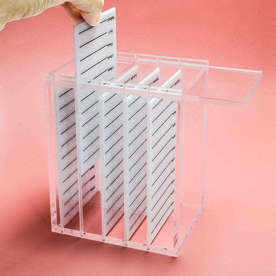 NAGARAKU Acrylic False Eyelashes Eye Lashes Storage Box Volume lash storage Makeup tools Case Organizer Transparent 250 strips
