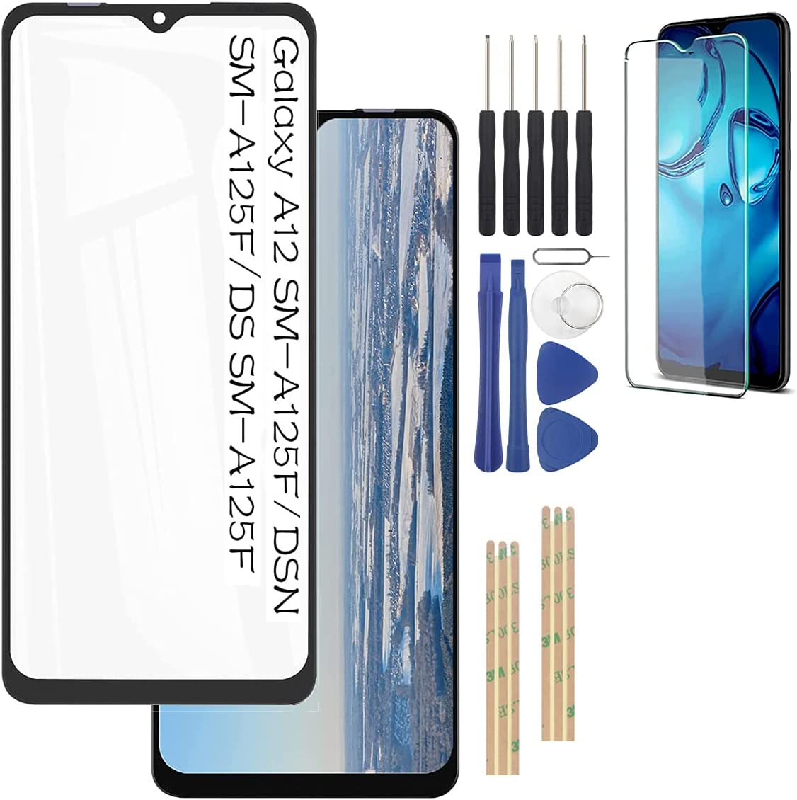 Cheap mail order specialty store YHX-US Front Glass for Samsung Galaxy A125F SM- 5% OFF SM-A125F A12 DSN
