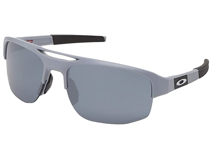 Oakley Mercenary (Matte Fog w/ PRIZM Black) Fashion Sunglasses