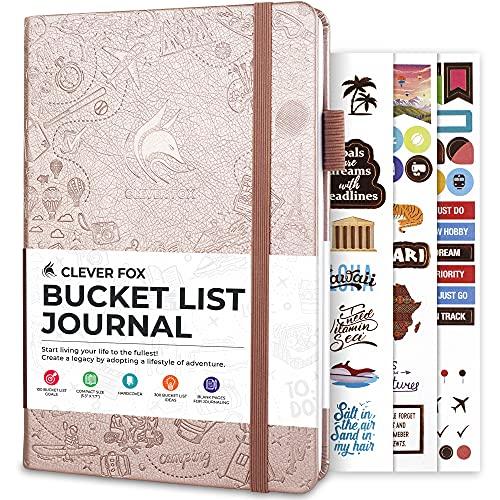 Clever Fox Bucket List Journal – …