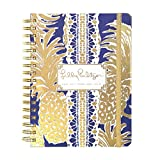 PHERAL FIT Lilly Pulitzer 17 Month Large Agenda 2017-2018 (Flamenco Navy)