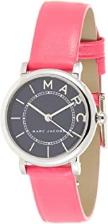 Marc Jacobs Women's Black Dial Leather Band Watch - MJ1540