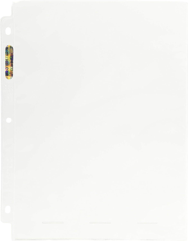 Ultra pro 8x10 Foto Seiten Album 25 Binder Blätter 1-Pocket Drucke Full Page
