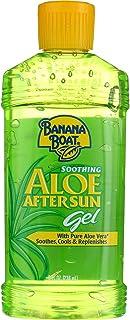 Banana Boat Aloe After Sun Gel 8 Ounce (235ml) (2 Pack)