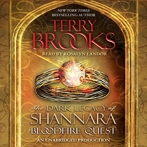 Bloodfire Quest audiobook cover art