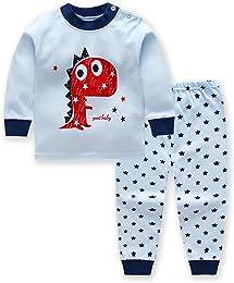 Morbuy Pyjama Bébé 2 Pièces, sous-Vêtements Ensemb
