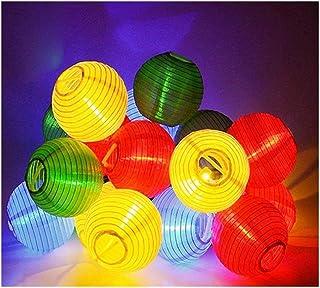MIYU 6.3M 30LEDs Lantern Shape String Outdoor Decor Christmas Wedding New Year Christmas Outdoor Patio Garland Decoration ...