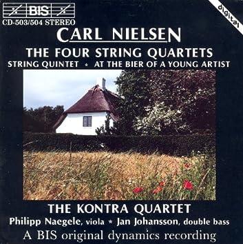 Nielsen: 4 String Quartets / String Quintet