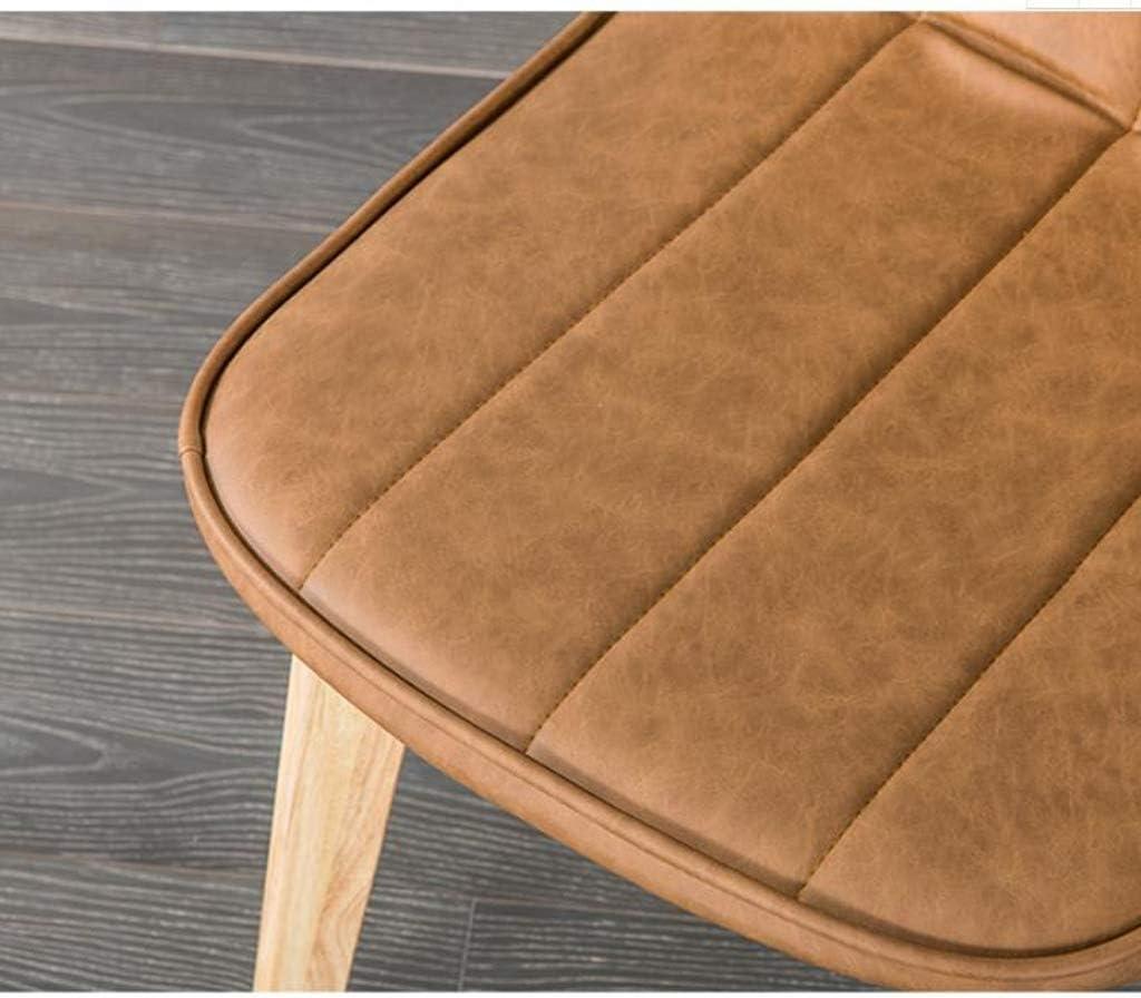 Stable Simple chaise bureau étudiant et chaise de maquillage tabouret retour à la maison à manger chaise d'ordinateur Gratuit (Color : Green) Brown