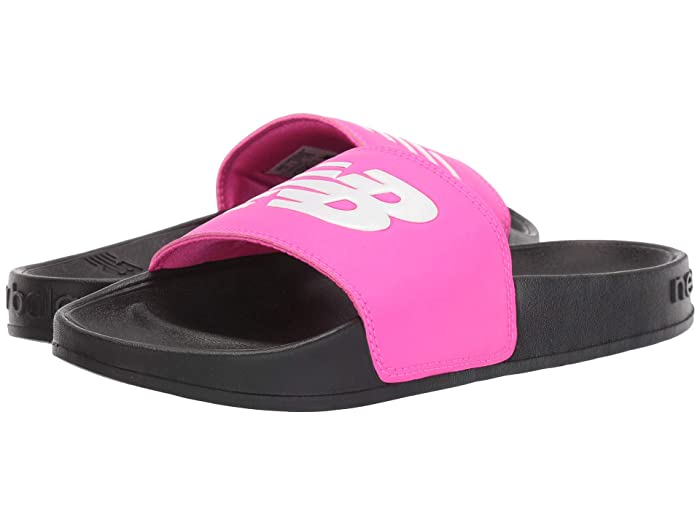 New Balance  200 (Black/Pink Synthetic) Womens Sandals