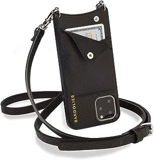 BANDOLIER EMMA SILVER バンドリヤー エマ シルバー iPhone11 Pro ケース スマホ 携帯 ショルダー アイフォン ブラック 黒 2910 [国内正規品]