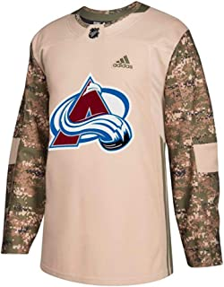adidas Colorado Avalanche NHL Men's Camo 2018 Authentic Veterans Day Practice Jersey