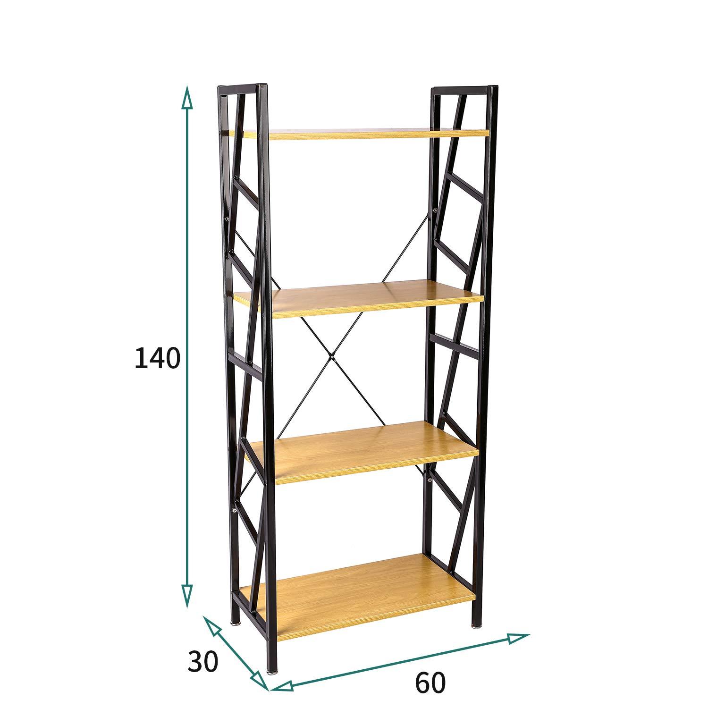 Haliwu Estantería Estante Metal, estantería de Cocina baño Estante estantería (Estantería Escalera con Flores para peldaños (Estantería Alto Estantería: Amazon.es: Hogar