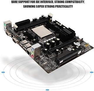 Diyeeni Placa Base para PC para CPU AM2 AM3 (M-ATX, Memoria DDR2/DDR3, gráficos Integrados GF7025/7050/6100, 2X SATA2.0, 4X USB), Placa Base para Juegos de 3 Pines con Interfaz IDE
