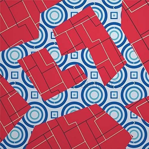 daoyiqi Juego de adhesivos decorativos para azulejos, diseño de mosaicos de 30,5 x 30,5 cm, vinilo impermeable para decoración de la cocina, el hogar