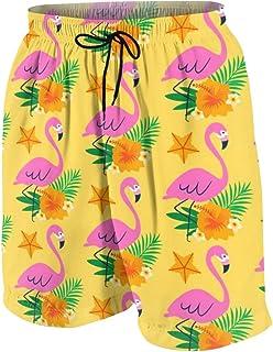 Hand Drawn Dia De Muertos Men's Swim Trunks Summer Teen Beach Pants Quick Dry Board Shorts Bathing Suit