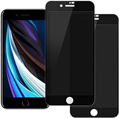 (2 pack) Privacy Screen Protector for iPhone SE