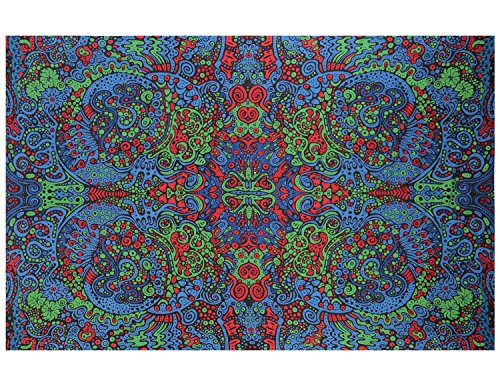 Sunshine Joy 3D Psychedlelic Art Tapestry Tablecloth Beach Sheet 60x90 Inches - Liquid L