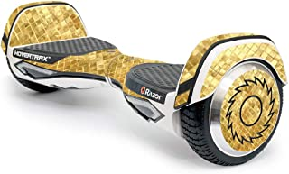 MightySkins Skin Compatible with Razor Hovertrax 2.0 Hover Board - Gold Tiles | Protective, Durable, and Unique Vinyl Decal wrap Cover | Easy to Apply, Remove, and Change Styles | Made in The USA