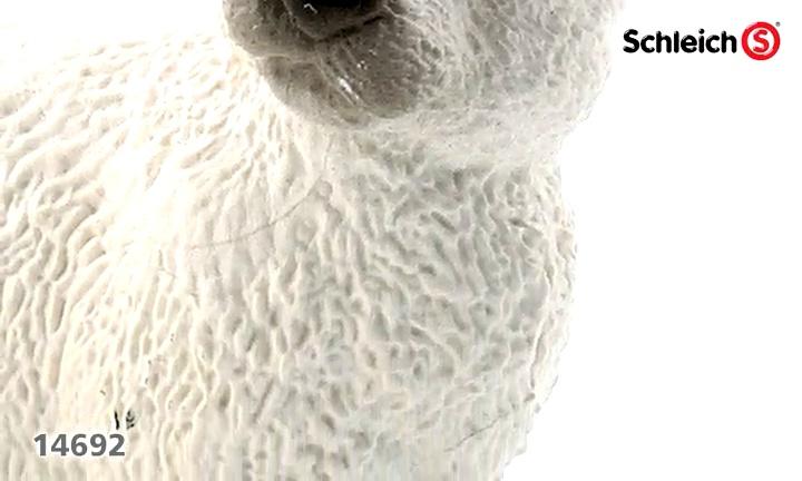 Schleich Lop Orejas Conejo Figura De Colección Nuevo