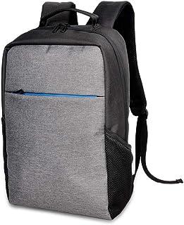 حقيبة ظهر للكمبيوتر المحمول للرجال، حقيبة ظهر للسفر 15.6 بوصة من IPOTECH حقائب كمبيوتر مدرسية خفيفة الوزن