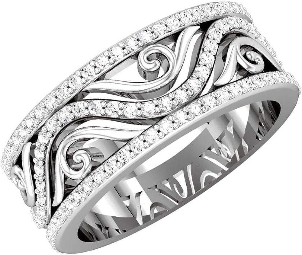 Bonyak Jewelry Platinum 1 2 CTW Size Diamond Anniversary Band Fashion Ranking TOP13 in