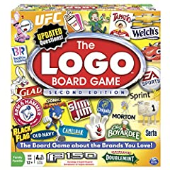LOGO 2nd EDITION combines popular brand logos with 1200 trivia questions Answer questions to move forward on the board. Reach the Winning Space first to win! Now with brands for the whole family, from food to cars, apps to stores LOGO 2nd EDITION is ...