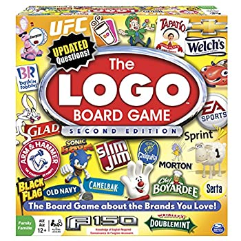 Spin Master Games Logo 2nd Edition Board Game