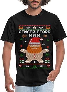 Ginger Beard Man Ugly Christmas Sweater Men's T-Shirt