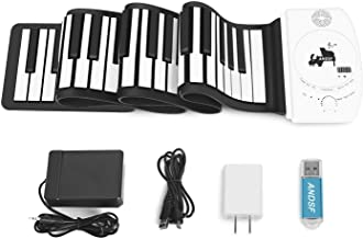Portable 88 Keys Roll Up Piano - ANDSF Upgrade Version Flexi