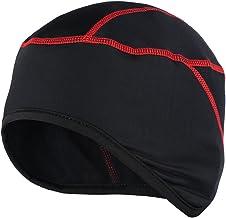 Honeytecs Thermal Fleece Winter Windproof Beanie Hat Cap Outdoor Sports Running Skiing Bike Bicycle Cycling Helmet Liner