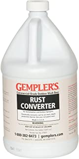 GEMPLER'S Eco-Friendly Spray-ON Rust Converter and Primer 2-in-1 Formula 1 Gallon Size - One-Step Spray-able Solution to C...