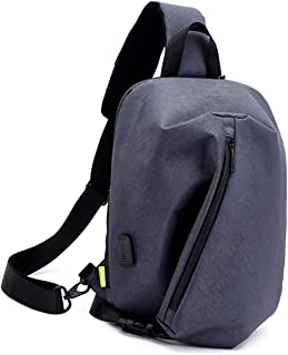 Crossbody Bag Outdoor Small Backpack Expandable Student Bag Men's Laptop Shoulder Bag Chest Bag Work Package Leisure Sports Bag