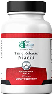 Ortho Molecular Products, Time Release Niacin, 90 Tablets