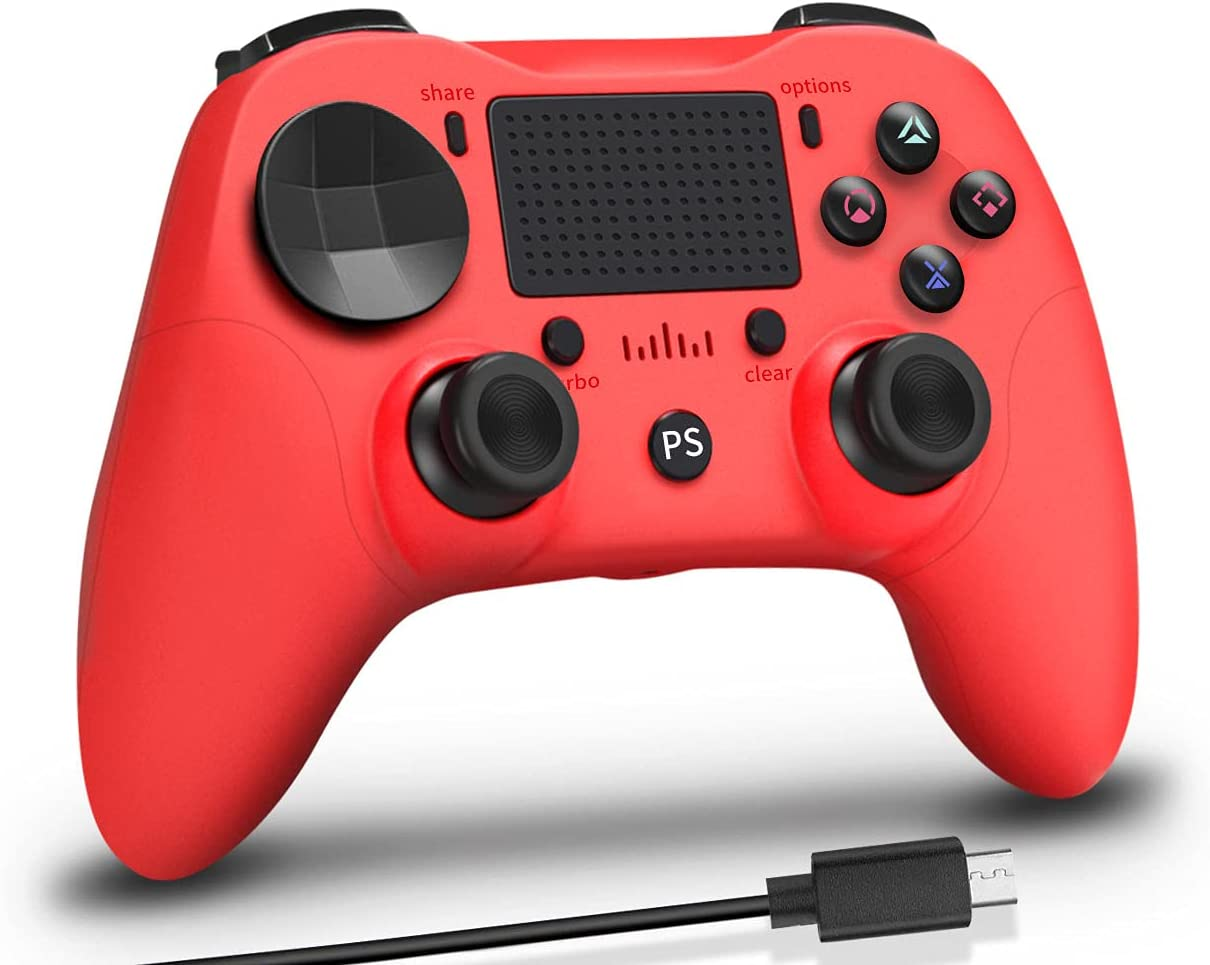 Red PS4 2021 Controller Wireless 2021 spring and summer new Playstation Tur for 4