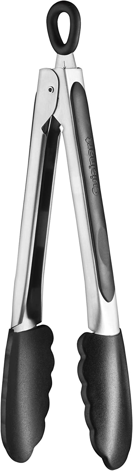 Cuisinart Credence Silicone-Tipped Tongs Cheap mail order specialty store 9-Inch
