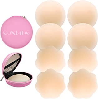 4 Pairs Pasties Women Nipple Covers Reusable Adhesive...