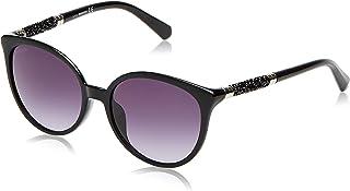 Swarovski Cat Eye Sunglasses for Women - Gradient Smoke Lens, SK0149-H01B56