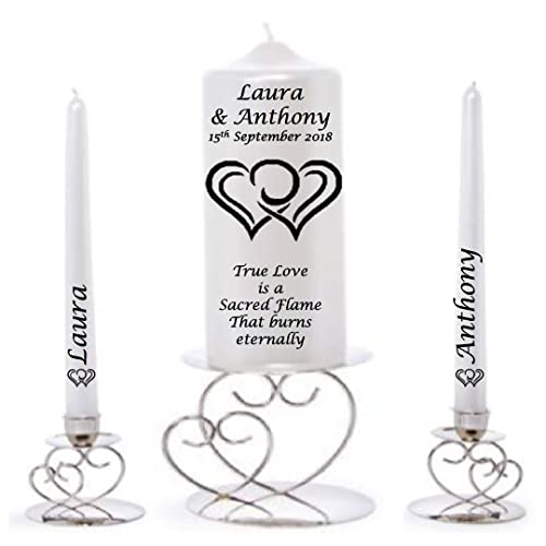 Personalised True Love Unity candle
