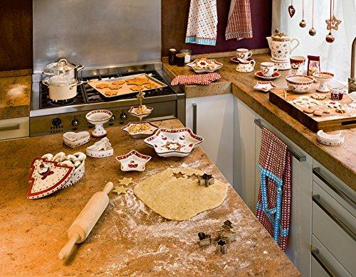 Villeroy & Boch Winter Bakery Decoration Petite Bol Lune, 11 cm