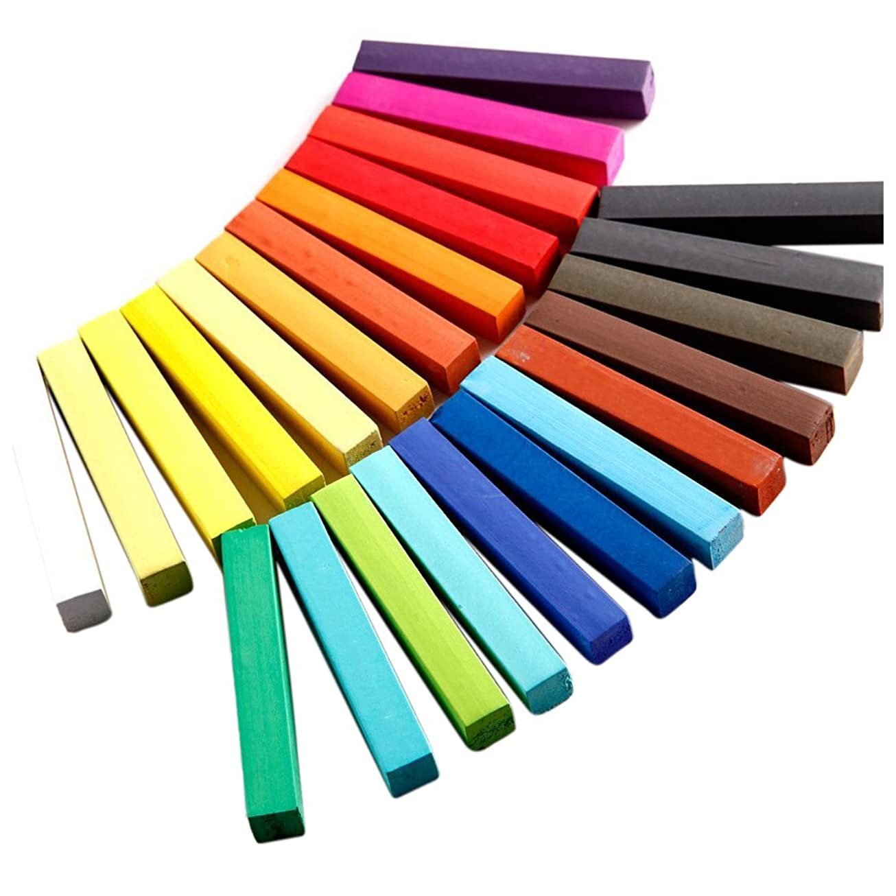 ムスタチオシェア依存するSODIAL(R) キット24色ヘアカラー染料一時ヘアチェロ