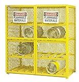 Durham Steel/Iron Horizontal Cylinder Storage Cabinet, EGCC16-50, 16...