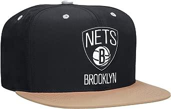 NBA Mitchell & Ness Butter Nylon 2 Tone Strapback Hat