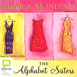 The Alphabet Sisters                   By:                                                                                                                                 Monica McInerney                               Narrated by:                                                                                                                                 Catherine Milte                      Length: 13 hrs and 26 mins     15 ratings     Overall 4.3