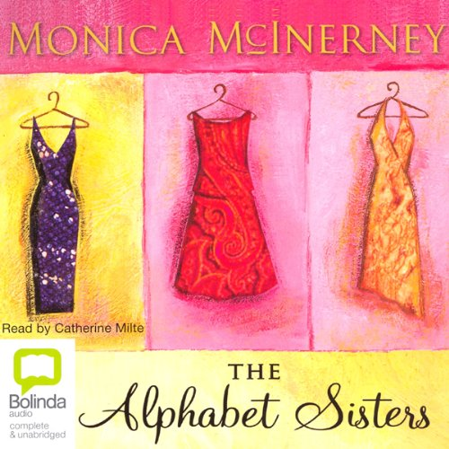 The Alphabet Sisters                   By:                                                                                                                                 Monica McInerney                               Narrated by:                                                                                                                                 Catherine Milte                      Length: 13 hrs and 31 mins     58 ratings     Overall 4.1