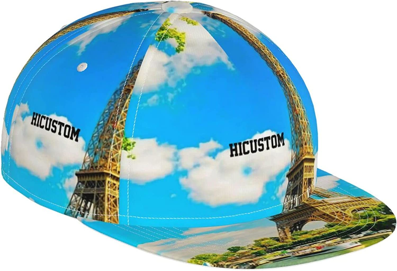 KINESONSS Fantasy Amazing Max 57% OFF Eiffel Tower Cap Baseball Hat Colorful Now on sale
